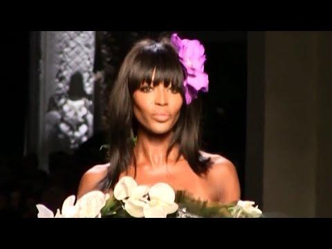 Naomi Campbell, musa de Gaultier, vuelve a la pasarela