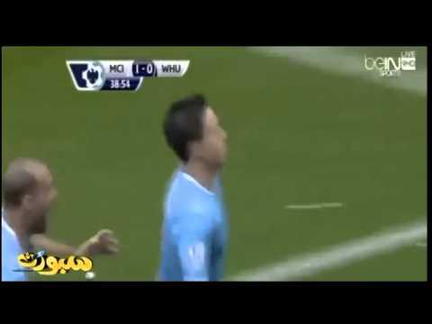 Samir Nasri marque un but phénomènal !!!!