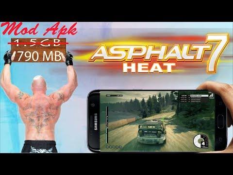 Asphalt 7 heat Mod apk obb || high compressed || download for all devices