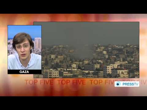ISRAEL DESTROYER: Gaza City 130+ Palestinians killed in 6th day bombarment