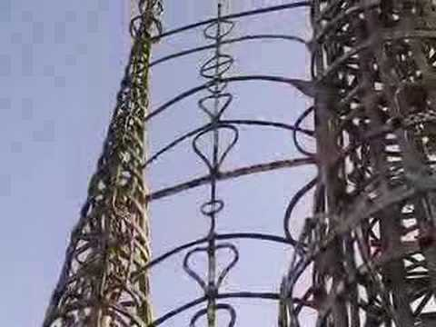 Watts Towers and Enrico Caruso
