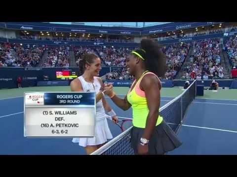 Rogers Cup - Toronto - Serena Williams v. Andrea Petkovic