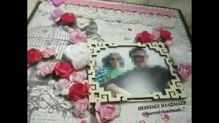 Couple Handmade Creative Lovely Scrapbook Ideas/Gifts for Him/Gifts for Her/Wedding Album Ideas