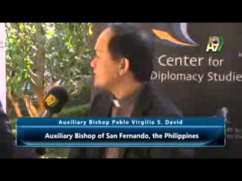 Pablo Virgilio S. David, Auxiliary Bishop of San Fernando, the Philippines