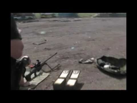 50 Cal vs Body Armour