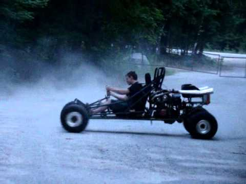 Mikey's home made go kart - 750CC