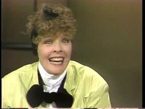 Diane Keaton on Late Night, January 24, 1985