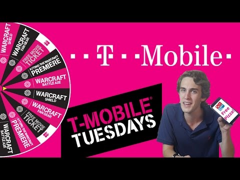 T-Mobile Tuesday Buy Me Food | Tech Tuesday