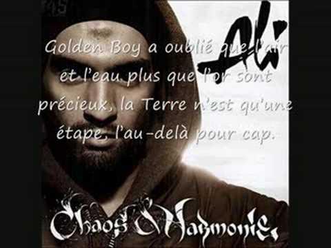 Ali - Golden boy (Clash booba)