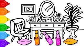 Coloring and Drawing Youtuber Vanity Learn to Color for Kids