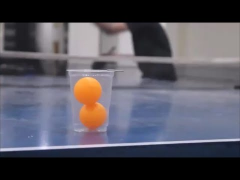 Table Tennis Trick Shots / Ping Pong (India)