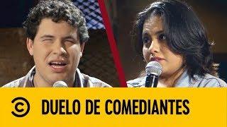 Alexis Ojitos de Huevo VS La Bea | Duelo De Comediantes | Comedy Central LA