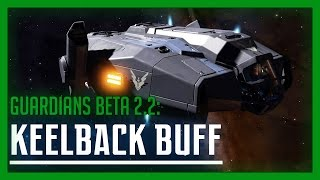 Elite: Dangerous - Guardians Keelback Buff