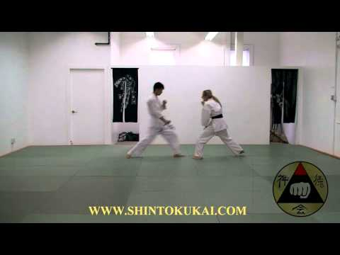 Okinawa Shorin-ryu Karate: Knife Defense Demonstration Image 1