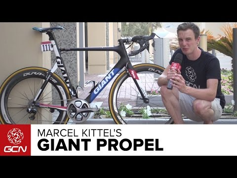 Marcel Kittel's Giant Propel