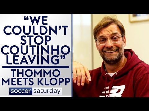 We tried everything to keep Coutinho   Thommo Meets Jurgen Klopp