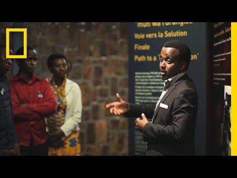 A Survivor's Story as a Guide at Rwanda's Genocide Memorial