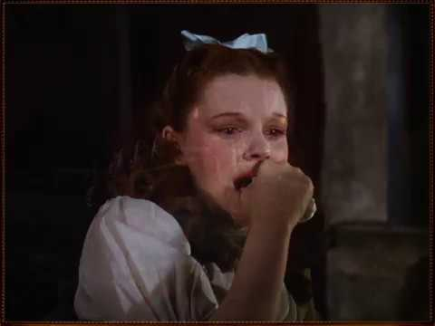 Over The Rainbow Reprise ~ W/ Original Matte Paintings - Judy Garland - The Wizard Of Oz