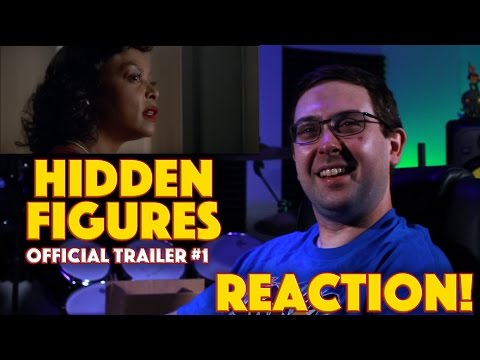 REACTION! Hidden Figures Official Trailer - True Story Movie 2017