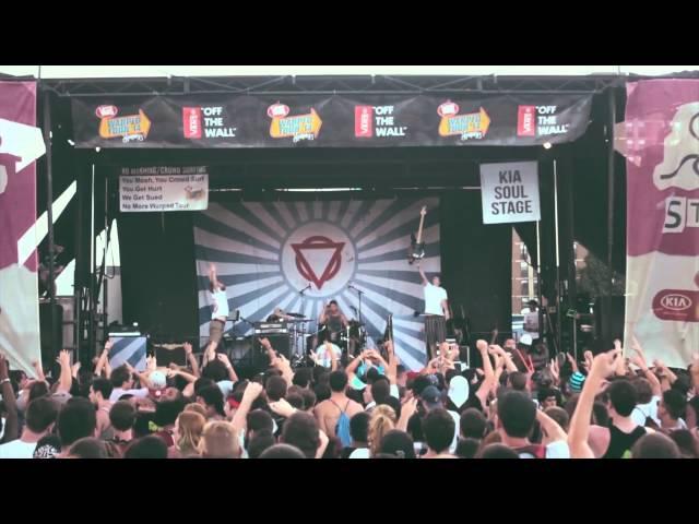 ENTER SHIKARI - Warped Tour 2014. #3 [shows 3 - 6 live montage].