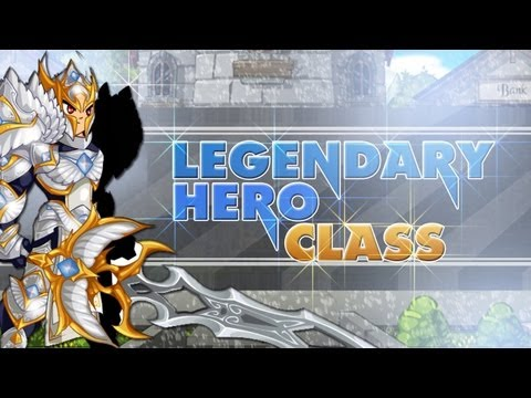 =AQWorlds= Legendary Hero Class! [Review]