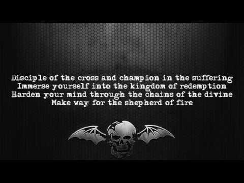 Avenged Sevenfold Hail To The King Full Album Lyrics on screen Full HD