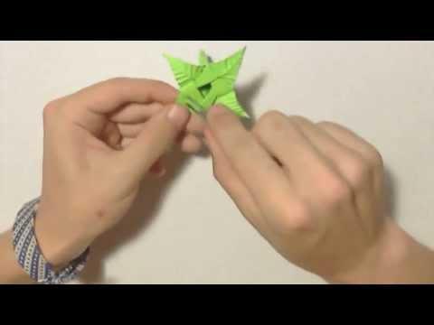 #22 Origami stem (peduncle,