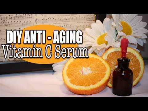 DIY Hydrating Vitamin C Serum - Anti Aging & Great for All Skin Types