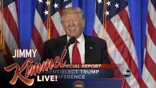 10 Second Recap of Donald Trump Press Conference