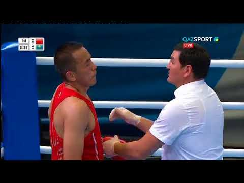 Левит қытайлық боксшыны нокаутпен ұтты! Финалда Пинчукпен кездесуі мүмкін бе?