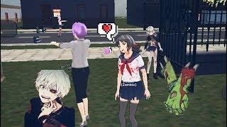 Zombies! | School Girl Simulator | I'm zombie!