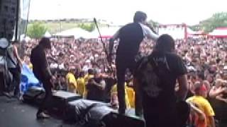 Norma Jean - Warped Tour 2008