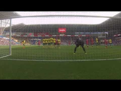 FL HIGHLIGHTS: CARDIFF CITY 2-4 NORWICH CITY