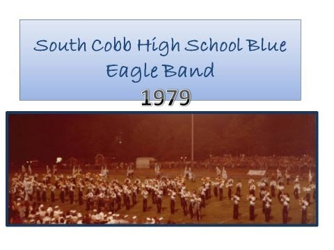 South Cobb High School Blue Eagle Band 1979