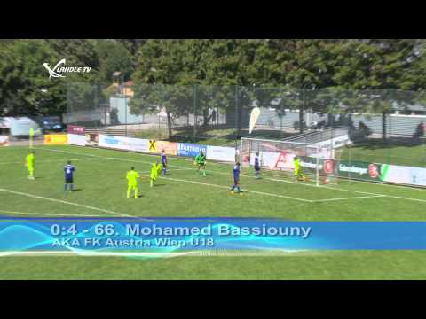 AKA Vorarlberg U18 vs. Austria Wien U18
