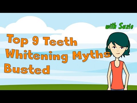 Top 9 Teeth Whitening Myths Busted - Is teeth whitening safe