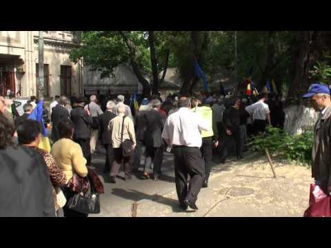 Marșul Unirii s-a oprit și la ambasada Turciei