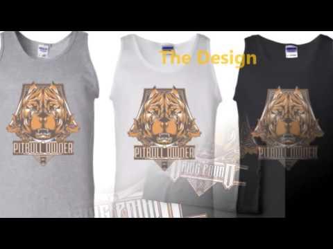 Pitbull Dog Design | Weed Vape Clothing Wepe