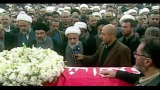 Thousands mourn Hezbollah commander at Beirut funeral