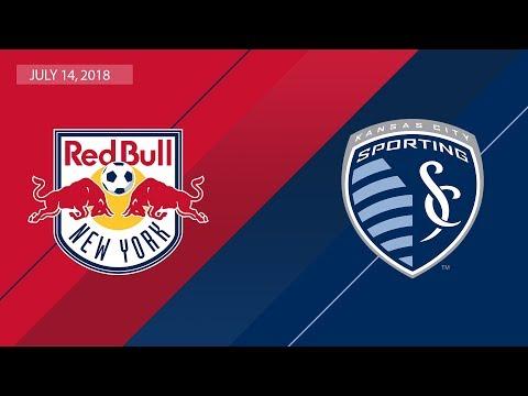 HIGHLIGHTS: New York Red Bulls vs. Sporting Kansas City | July 14, 2018