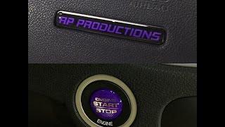 Dodge Charger Custom Interior Badges - Rebadge Design