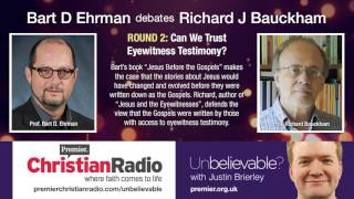 Video: Are Gospels Based on Eyewitness Testimony - Bart Ehrman vs Richard Bauckham 2/2