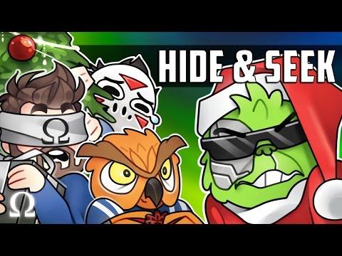 THE PRESENT SNATCHERS, HOTEL MARIO-TT! | Hide & Seek #104 Funny Moment Ft. Friends