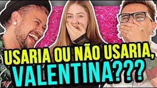 Comentando LOOKS DE ESTRELAS TEENS feat. Valentina Schulz | Diva Depressão