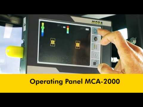 Compaction Assistant MCA 2000 Roller