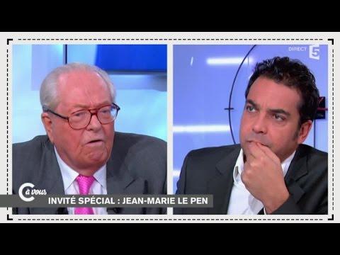 Jean-Marie Le Pen face à Patrick Cohen - C à vous - 01/12/2014