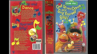 Sesame Street Home Video Get Up And Dance And Sing Yourself Silly!