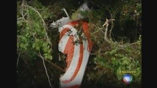 Após dez anos, equipe da Record reencontra destroços do avião da Gol