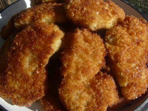 Crispy Fried CHICKEN TENDERS - How to make FRIED CHICKEN TENDERS ...