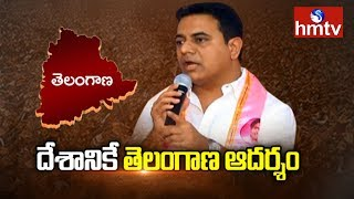 Telangana is an Inspiration to India - KTR | KTR Meet The Press at Somajiguda Press Club | hmtv